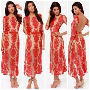 For love and lemons San Marco Embroidered Dress